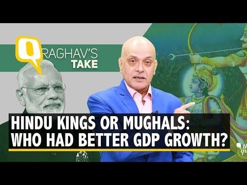 If Modi Beat Manmohan鈥檚 GDP, Hindu Kings Outperformed Mughals | The Quint