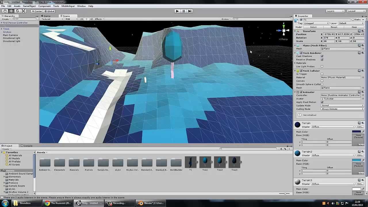 Unity blender low poly map making youtube gumiabroncs Gallery