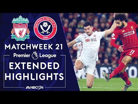 Liverpool v. Sheffield United | PREMIER LEAGUE HIGHLIGHTS | 1/2/2020 | NBC Sports