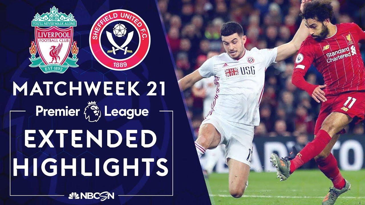 Liverpool v. Sheffield United | PREMIER LEAGUE HIGHLIGHTS | 1/2/2020 | NBC Sports