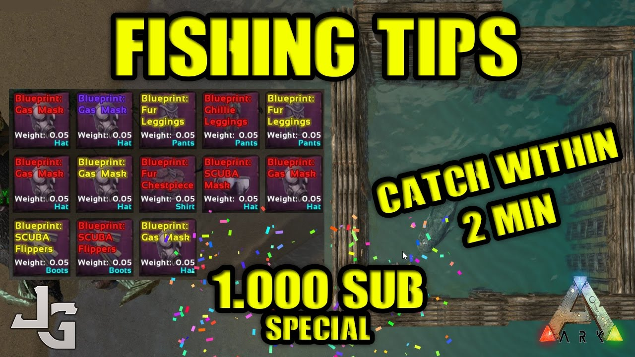 Ark fishing tips and tricks fast catch within 2 minutes ark fishing tips and tricks fast catch within 2 minutes fishing pen 1000 sub special malvernweather Image collections