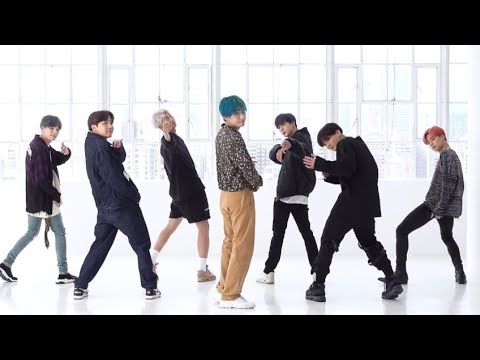 BTS - Boy With Luv(feat. Halsey)[DANCE PRACTICE MIRRORED]