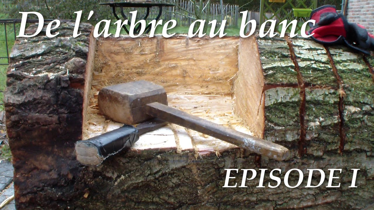 De l 39 arbre au banc episode1 youtube for Arbre maison jouet