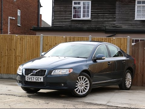 Volvo S80 2.4 D5 Turbo Diesel SE Geartronic 6 Speed Auto Bluetooth Full Leather Heated Seats OV57GEY