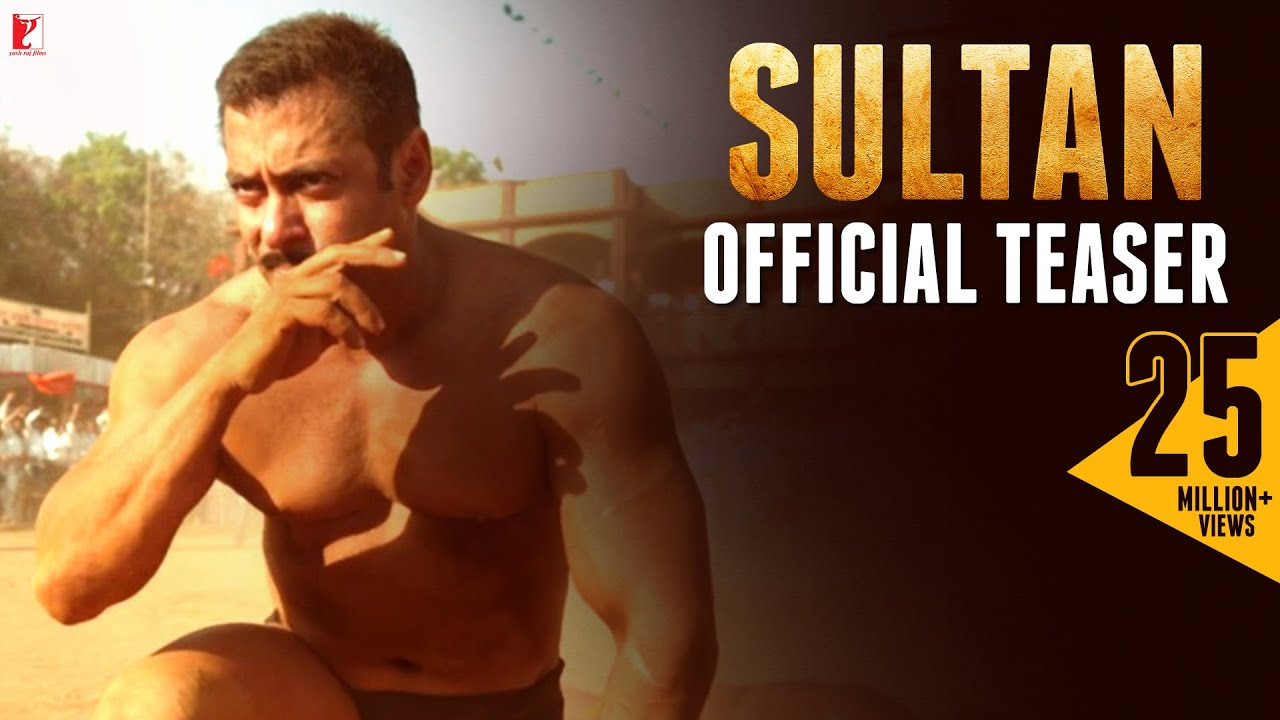 Sultan – Salman Khan New Movie 2015 Teaser Released.