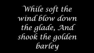 Dead Can Dance - The Wind That Shakes The Barley (high quality audio, with on-screen lyrics)