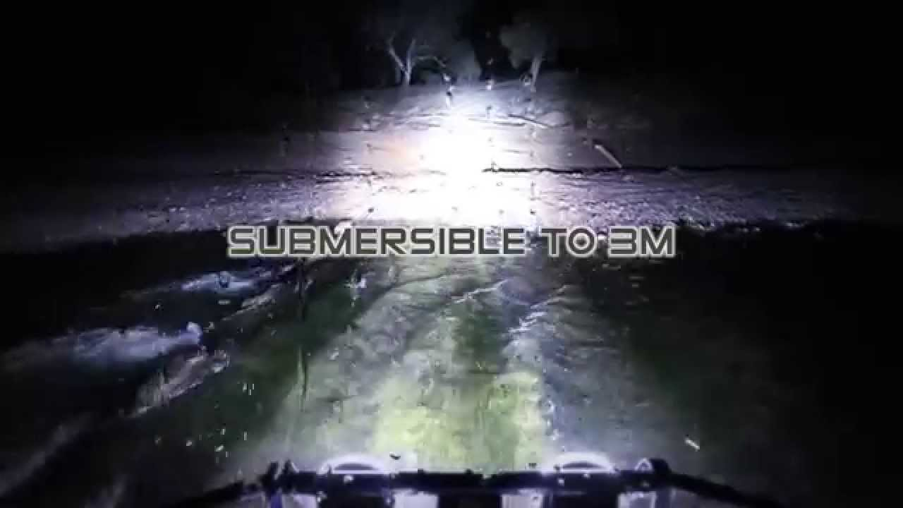 Arb Intensity Led Round Off Road Lights Youtube