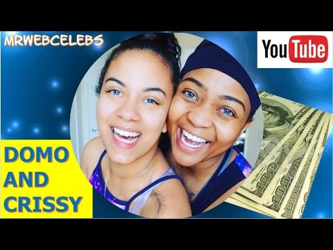 How much does DOMO AND CRISSY make on YouTube 2017