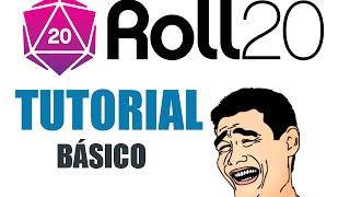 TUTORIAL: Como jogar RPG no Roll20 (Básico)