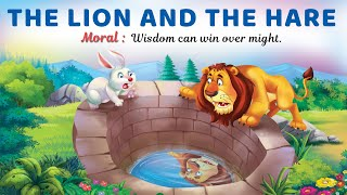 Moral Story the lion and the Hare +Educational Bedtime story for kids + Story for Beginners