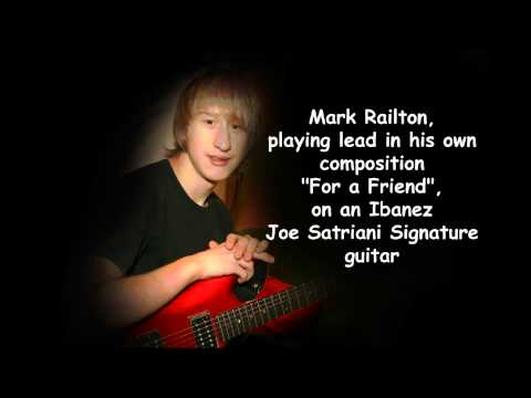 Joe Satriani Signature Guitar (Ibanez JS 1200) played by Mark Railton on an