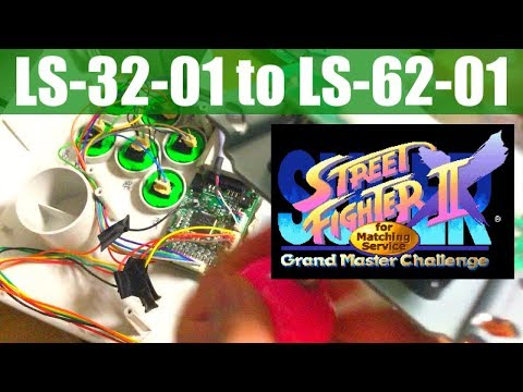 SUPER STREET FIGHTER II X for Matching Service - LS-62-01(セイミツ)への換装作業(Dreamcast,HKT-7300)