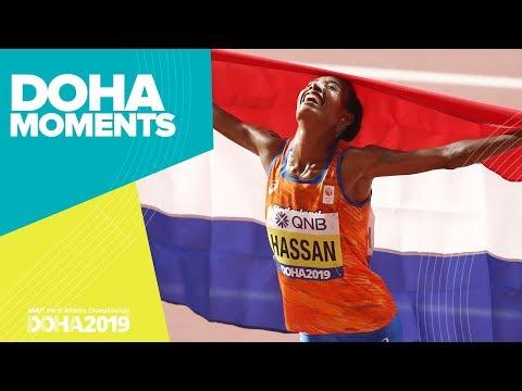 Hassan Wins 10,000m Gold   World Athletics Championships 2019   Doha Moments