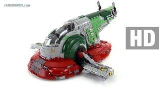 LEGO Star Wars UCS Slave I detailed review! set 75060