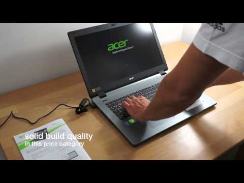 Acer Aspire E5-771G Unboxing