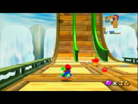 Super Mario Galaxy 2-Hightail Falls Galaxy (Hot-Stepping Dash Pepper)