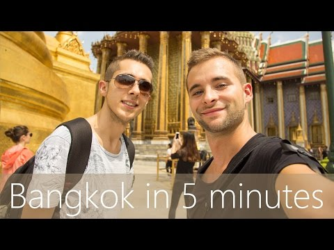 Bangkok in 5 minutes | Travel Guide | Must-sees for your city tour