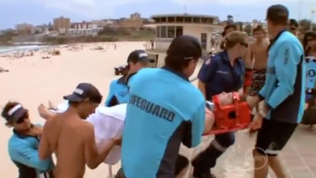 Deaf Girl Faints In The Water Bondi Rescue Youtube