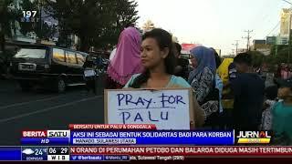 Puluhan Warga Manado Galang Dana untuk Korban Gempa dan Tsunami Sulteng