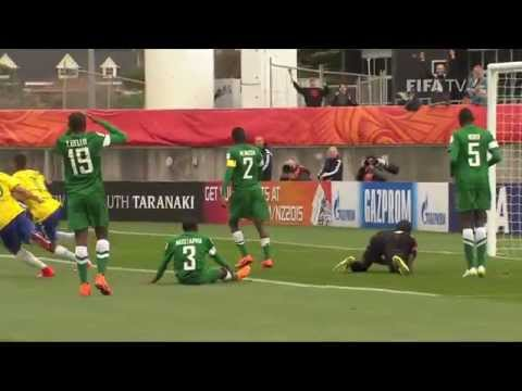 Nigeria v. Brazil - Match Highlights FIFA U-20 World Cup New Zealand 2015