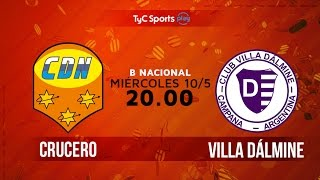 Crucero del Norte vs Villa Dálmine full match