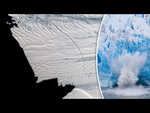 Antarctica is Splintering and Collapsing, Michael 'Storm of the Ages', Earth Opens Up in Argentina