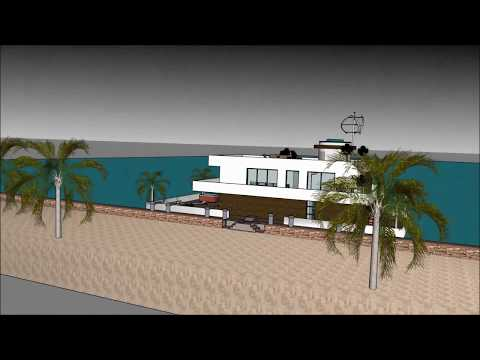 Houseboat плавучий домs 360 Architect Barge in RUSSIA Moscow house boat 3d model 5 star houseboat пл