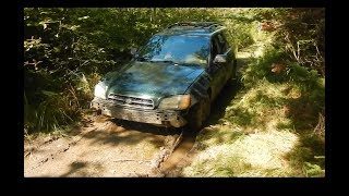 ABANDONED CAR IN THE WOODS!