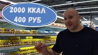 Алексей Кирпиченко. Похудение. Корзина продуктов.