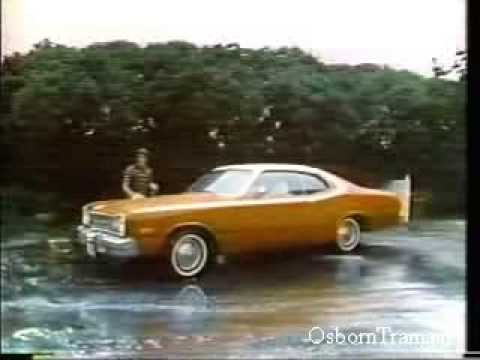 """1974 Dodge Dart Sport Commercial - Three cars in one. """"The Convertriple"""
