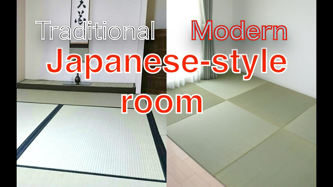 Traditional Modern Japanese Style Rooms Japanese Tatami Mats And Interior Design