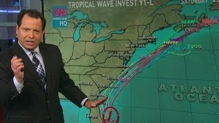 Tropical storm threatens July 4th