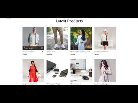 Launch a modern eCommerce Joomla website in minutes with Shopin