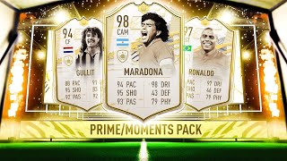 3X INSANE PRIME OR MOMENTS ICON PACKS! #FIFA21 ULTIMATE TEAM