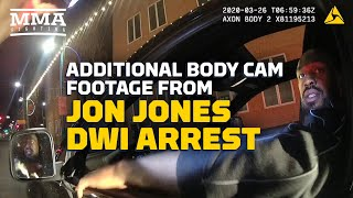 New Bodycam Footage of Jon Jones DWI Arrest Shows Gun, Recuerdo Found in Car  - MMA Fighting
