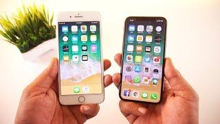 iPhone X vs iPhone 7 Plus Speed Test & Comparison [Urdu/Hindi]