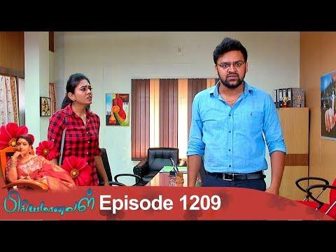 Priyamanaval Episode 1209,  02/01/19
