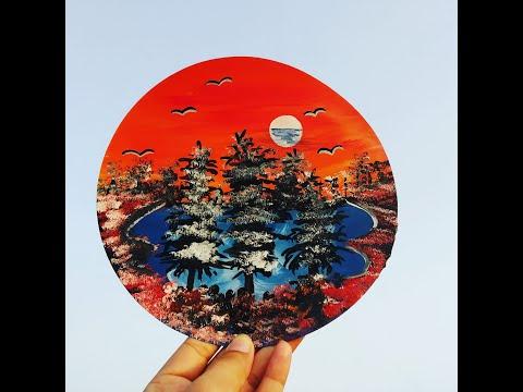 landscape painting kaise banaye, landscape painting