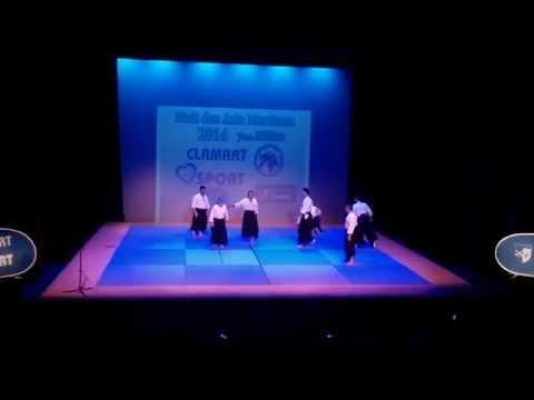 7e Nuit des Arts Martiaux 2014 à Clamart : Aïkido Les Adultes thumbnail