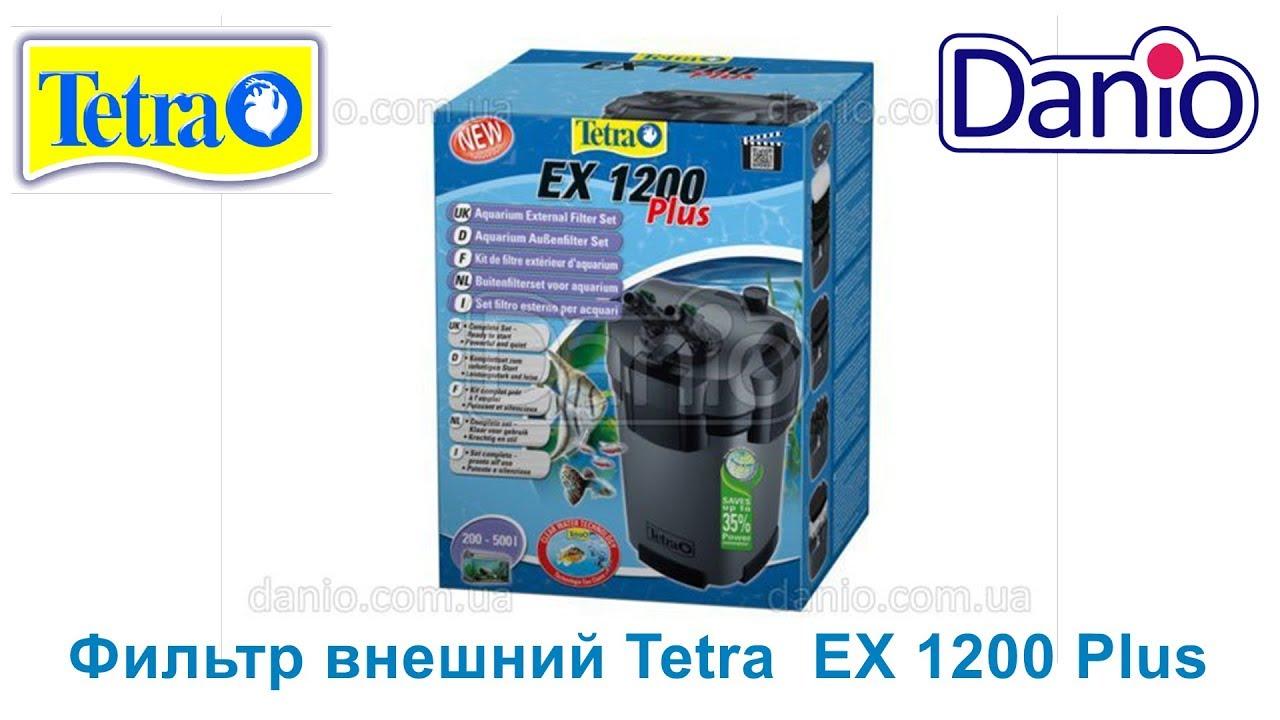 Обзор внешнего фильтра Tetra EX 800 plus - YouTube