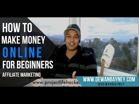 How To Make Money Online For Beginners (Affiliate Marketing) – In PLAIN ENGLISH!
