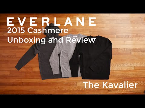 The Best Cashmere: Everlane Unboxing and Review