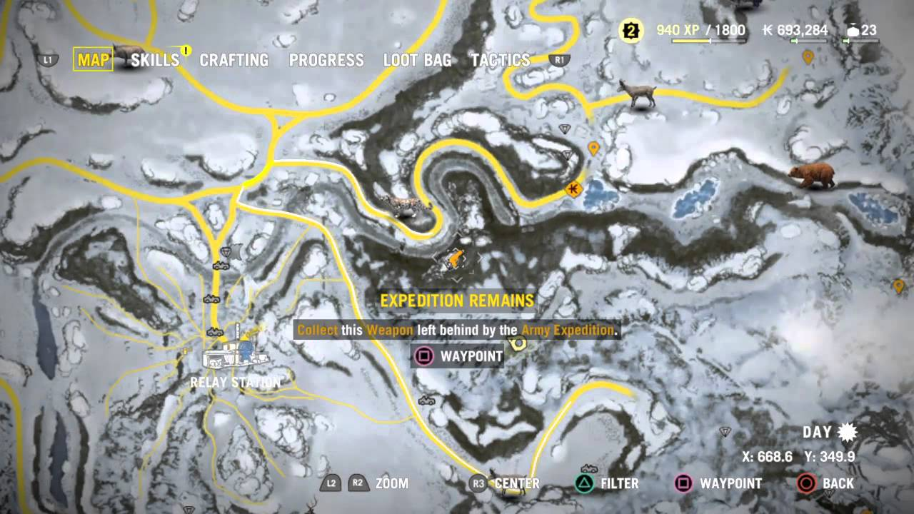 Far Cry 4 Valley Of The Yetis Buzzsaw Location Ps4 Youtube