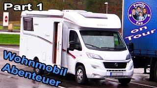 Family Fun ON TOUR - Wohnmobil Abenteuer Tag 1 | Frankreich Belgien