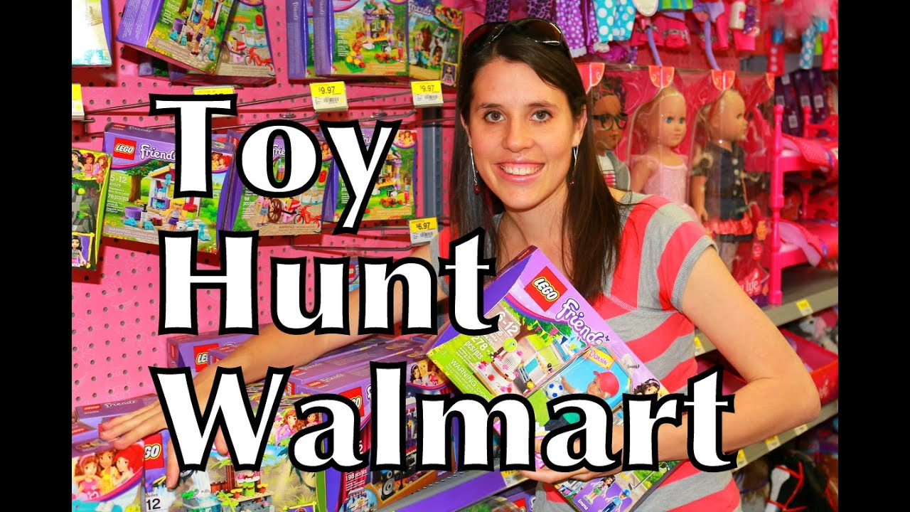 toy hunt toy hunting walmart lego friends barbie toys youtube - Walmart Toys For Christmas
