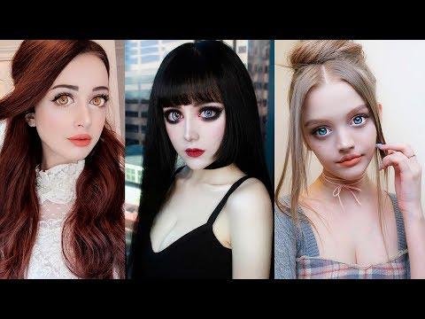 6 ДЕВУШЕК, которые настолько ПОХОЖИ НА КУКОЛ, что становится ЖУТКО! Живые куклы Барби [2019]