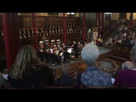Welsh Male Voice choir of Bridgend perform at Harrow School - 18/6/2017