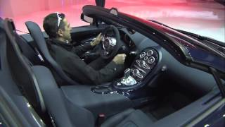 Bugatti Veyron 16.4 Grand Sport Vitesse preview at VW Group Evening | Geneva | March 2012