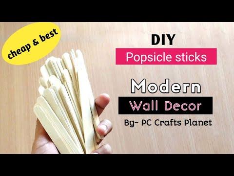 DIY Easy Modern wall decor | DIY wall decor ideas| wall hanging craft ideas| Wall decoration ideas