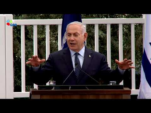 PM Netanyahu at Independence Day Reception for the Diplomatic Corps